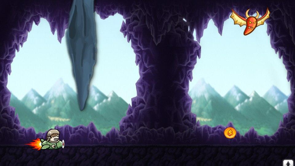 Demon's Cave Android Prototype Ingame Scene